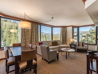 2BR Sweeping Valley View Resort at Squaw Creek Corner Unit Sleeps 6