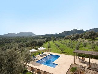 5 bedroom Villa in Pollenca, Balearic Islands, Spain : ref 5489350