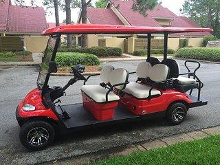 "Stay in the new ""BIG FISH VILLA"" Golf Cart Included!, Miramar Beach"