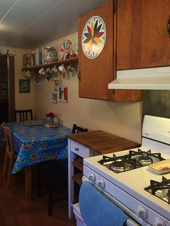 Kitchen with additional table and chairs