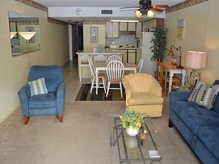 LIGHT AND CHEERFUL TWO BEDROOM OCEAN FRONT IN BEAUTIFUL GARDEN CITY SC