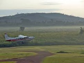Kajjansi Airfield for easy access of domestic chatter flights, only 2 minutes away.