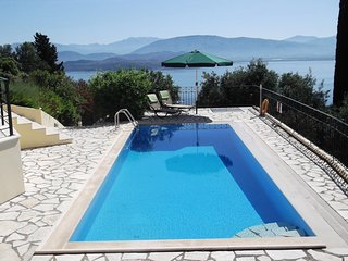 Offer September only £1400 p/w.  BeautifulCorfu Villa with Amazing  Sea Views.