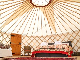 Russet Yurt at Walnut Farm Glamping