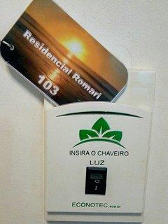 Sistema exclusivo de gerenciamento de energia elétrica por cartão, como dos hotéis