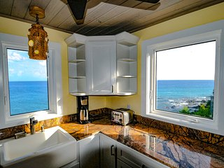 Stunning View From Kitchen