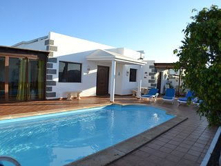 Luxury 4 bed detached villa with private pool.