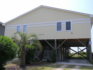 A Sea Green  - Fantastic View, Cute Interior, Oceanfront Access, Surf City