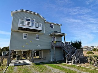On A Clear Day - Panoramic Ocean & Sound Views, Peaceful Area, Elevator, Topsail Beach