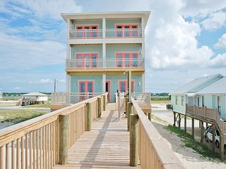 Sea Glass Gorgeous Beachfront Home w Private Heated Pool & Elevator