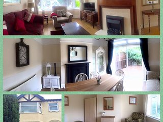 The Nook - luxury rental large garden dog friendly, Llandudno