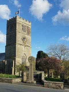 Tywardreath village church.
