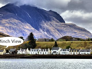 Minch View, Shieldaig.  Sea Views, 4 star