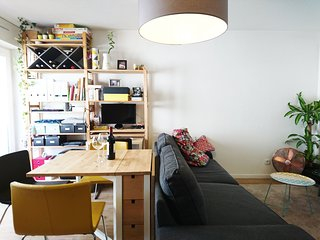 Bel appartement équipé plein centre + parking, Bordeaux