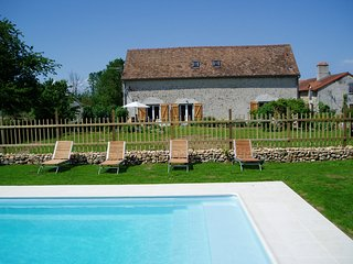 Gite in French countryside with shared heated pool