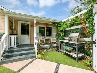 Seashore Bungalow in Carlsbad Short Walk to Beach - Sleeps 5