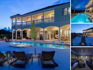 7 Bed Exclusive Home in Reunion 6 Miles to Disney!
