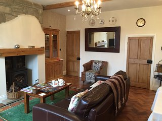 Historic character cosy cottage near Halifax Calderdale with luxury features.