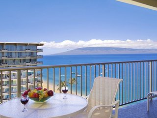Whaler 1111 - Deluxe One Bedroom, Two Bath Ocean View Condominium, Lahaina