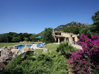 4 bedroom Villa in Pollenca, Balearic Islands, Spain : ref 5489349