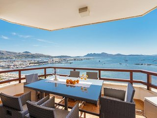 3 bedroom Apartment in Port de Pollença, Balearic Islands, Spain : ref 5489357