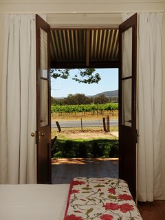 View of vineyards from Bedroom 2