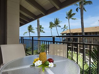 2 Bedroom condo in Oceanfront complex, amazing Ocean views, Kailua-Kona