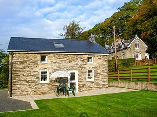 CWMDU COTTAGE, detached, open plan living area, ample parking, garden, near