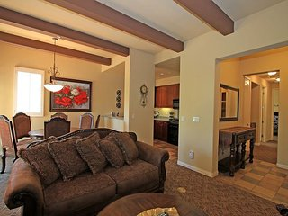 An Upstairs Two Bedroom Legacy Villa with Custom Furniture above the Pool!