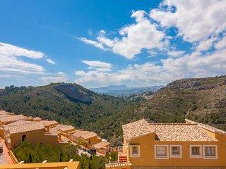 Apartamento Velazquez en Cumbre del Sol,Benitachell,Alicante para 4 huespedes