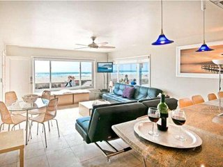 #101 Ocean Front North Mission Beach  Luxury Condo #1, San Diego