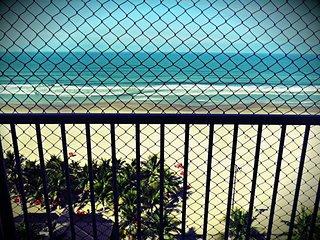 Apartamento da Praia, Mobiliado e de frente ao mar, Praia Grande