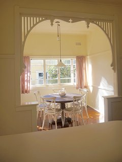Sunny dinning room, seats up to 6