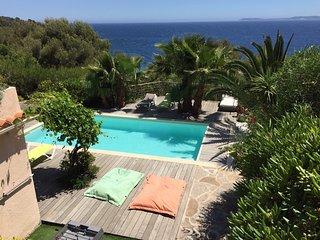 grande villa avec piscine et vue mer, Le Lavandou