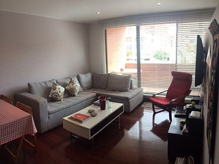 Great studio apartment close to Parque El Virrey, Bogota