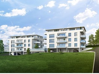 New Building, Close to Vevey/Montreux, Apartment B, Chatel-Saint Denis
