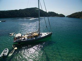 Charter veleiro passeio de barco cruseiro