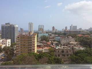 11Th Floor with View of Sea, Havana