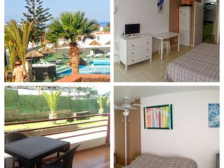 Olimpia, playa Troya, free parking, balcon, Arona