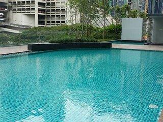 CozyStudio #2, FreeShuttle->KLCC (TwinTower) & Pavillion, Jln Ampang, KL