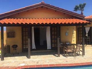 Aruba Villa with private pool, 3 min. from beach