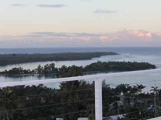 A majestic oceanic landscape in the South Pacific, Port Vila