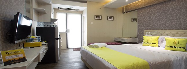 Lite Rooms at Kebagusan City Apartment