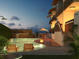 Pipa Centro Residence, Best Location & Ocean Views, Praia da Pipa