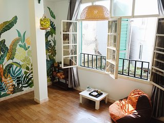 Cloudy Homestay-Tropical dream in Hanoi OldQuarter, Hanói