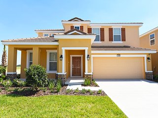 Luxurious 5 Bed 4 Bath Pool Home From  140/nt, Orlando