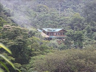 Villa Kristina Maria is in a private location nestled in the Rain Forest.