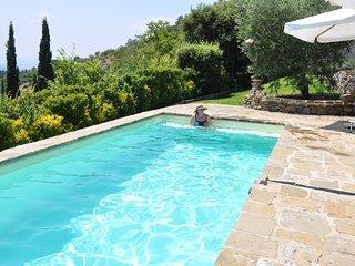 Tuscan Dream Home in Cortona: Pool, WIFI, Magical