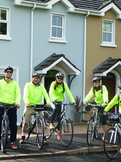 Cycle Inishowen Hire bikes - delivered to house.  Guests had a great time exploring Malin Head!