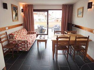 Appartement avec 40m² de terrasse, Combloux
